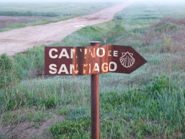 Afbeeldingsresultaat voor pelgrimstocht santiago de compostela