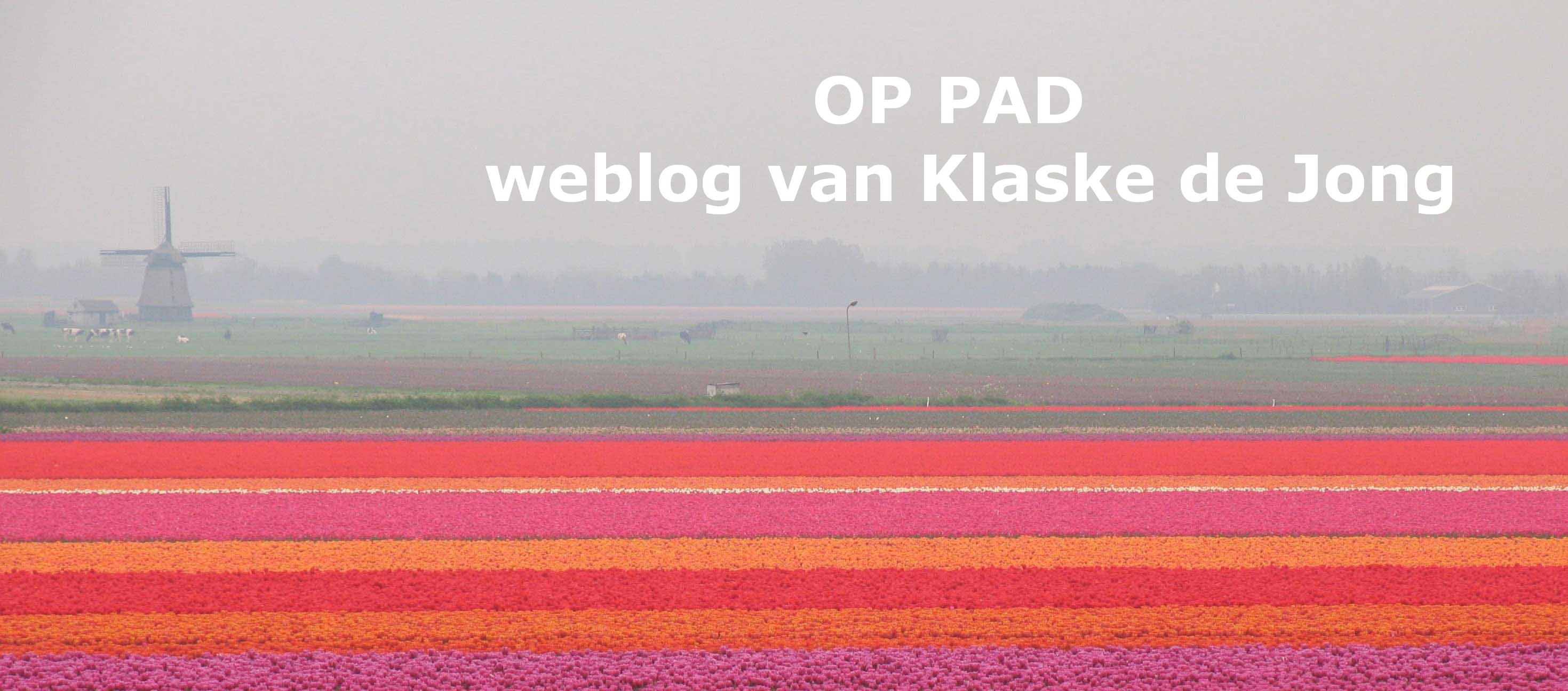 OP PAD, weblog van Klaske de Jong
